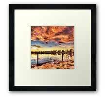 All the Colours of the Rainbow Framed Print