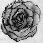 Charcoal Rose by Bethany Olechnowicz