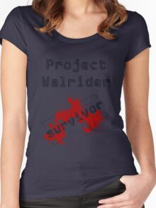 Project Walrider survivor Women's Fitted Scoop T-Shirt