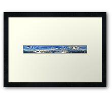 HDR Panoramic - Mannlichen, Switzerland Framed Print