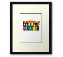 Perkaholic  Framed Print