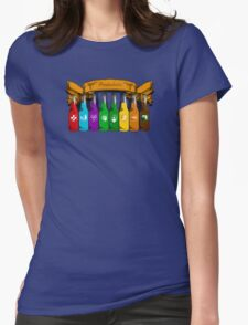 Perkaholic  Womens Fitted T-Shirt