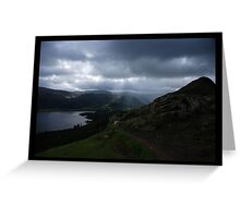 On Catbells - The Lakes, Cumbria Greeting Card
