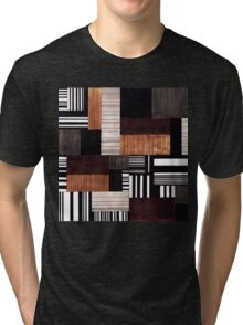 Striped blocks with a hint of sweets Tri-blend T-Shirt