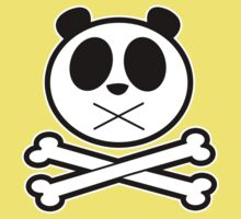 Panda Cross Bone Kids Clothes