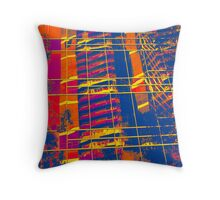 Patterns in Glass Throw Pillow