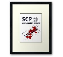 SCP: Containment Breach survivor Framed Print
