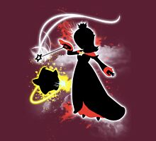 Super Smash Bros. White/Red Rosalina Silhouette Unisex T-Shirt