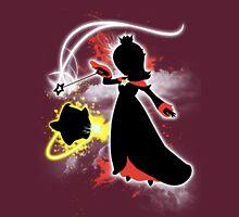 Super Smash Bros. White/Red Rosalina Silhouette Unisex T-Shirt