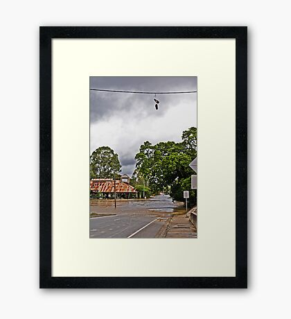 'No Shoes Required' Framed Print