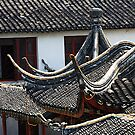 "A few points - roofs of Zhujianjiao by Christine ""Xine"" Segalas"