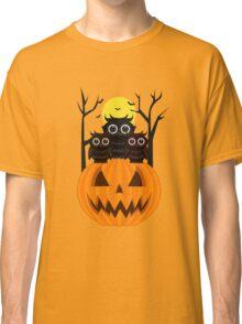 Jack O lantern & Owls Classic T-Shirt