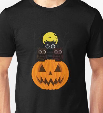 Jack O lantern & Owls Unisex T-Shirt
