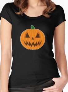 Jack O Lantern 2 Women's Fitted Scoop T-Shirt