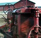 Very Old Tractor Up Close by BCallahan