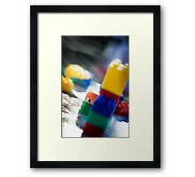 'Hide and Seek' Framed Print