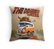 The Didgeridoo Express Throw Pillow