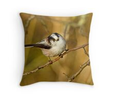 Frontal View Throw Pillow