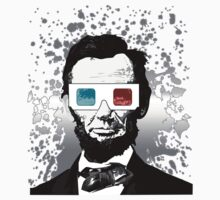 Abraham Lincoln - 3D (2) Kids Clothes