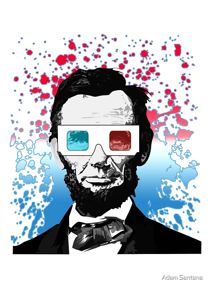 Abraham Lincoln - 3D by Adamzworld