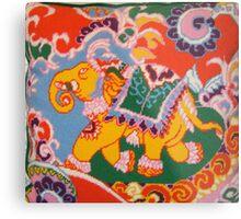 Circus Elephant- viewed 943 Metal Print