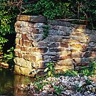 Old Stone Wall in a Creek? by barnsis