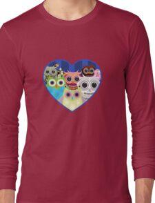 Love Owls 2 (White) Long Sleeve T-Shirt