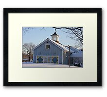 Diamond Barn Doors Framed Print