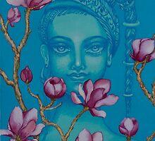 Magnolia by Yuliya Glavnaya