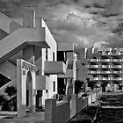 Mono Study in Contemporary Architecture Qawra Malta by Edwin  Catania
