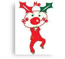 HO HO HO Christmas Style Canvas Print