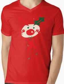 HO HO HO Christmas Style Mens V-Neck T-Shirt