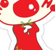 HO HO HO Christmas Style Sticker