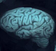 Worship the brain Sticker