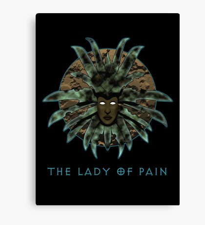 The Lady of Pain (PS: Torment) Canvas Print