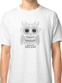 White Owl - Grey Classic T-Shirt