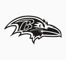 Baltimore Ravens logo 5 Baby Tee