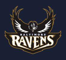 Baltimore Ravens logo 6 Kids Clothes