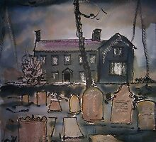 'Haworth Parsonage' by Martin Williamson (©cobbybrook)