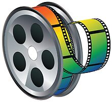 Movie Reel Icon by AnnArtshock