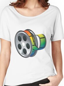 Movie Reel Icon Women's Relaxed Fit T-Shirt