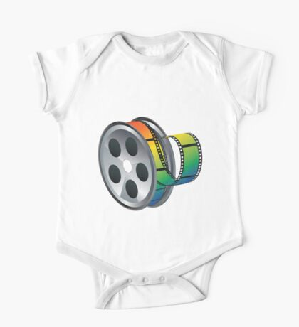 Movie Reel Icon One Piece - Short Sleeve