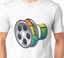 Movie Reel Icon Unisex T-Shirt