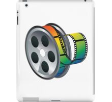 Movie Reel Icon iPad Case/Skin