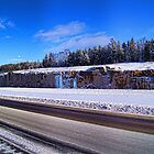 The Rock Cut On The Highway by Moodycamera Photography