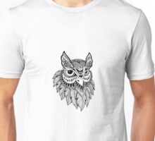 Owl Design Unisex T-Shirt