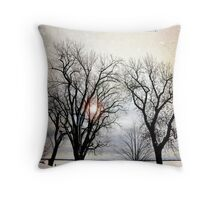 Little deaths Throw Pillow