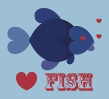 Love Fish T-Shirt