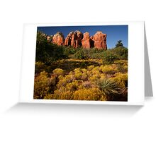 Sedona Coffee Pot Greeting Card