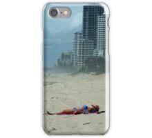Sunbathing, Surfers Paradise, Qld Australia  iPhone Case/Skin
